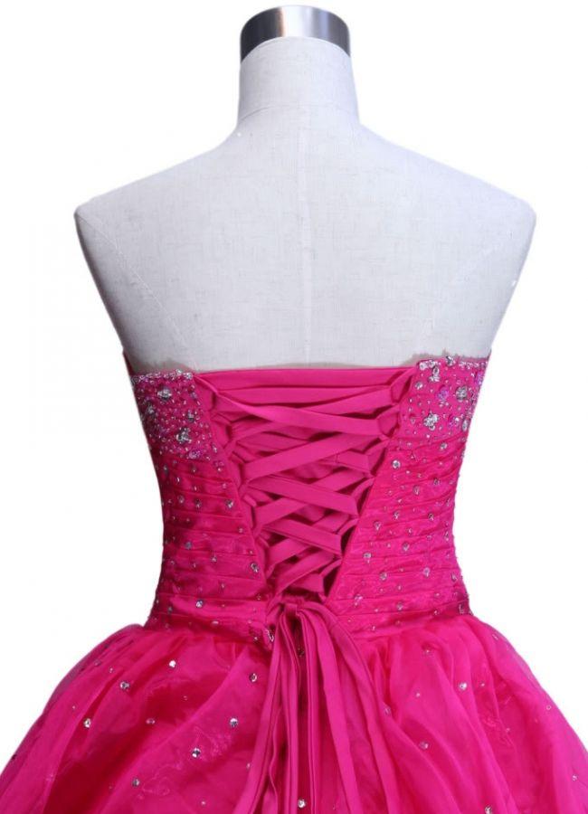 plesové šaty na maturitní ples růžové princeznovské - plesové šaty ... de4ded052e